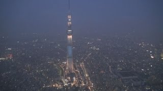 開業1周年を迎えた東京スカイツリー(東京都墨田区、634メートル)...