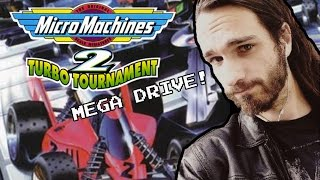 Micro Machines 2: Turbo Tournament Review (Mega Drive/Genesis) - Psy Reviews It