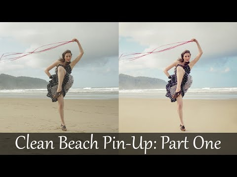 adobe-photoshop-tutorials-cs6-how-to-clean-model-pin-up-beach-retouch-and-color-correction-part-1