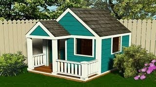 Playhouse Plans - How To Build A Playhouse With Plans,blueprints,diagrams,instructions And More