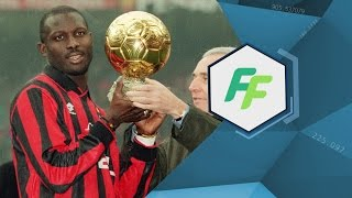 EXCLUSIVE: African hero George Weah
