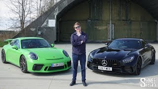What's My Choice? Porsche GT3 or AMG GT R - Only One! | HEAD TO HEAD