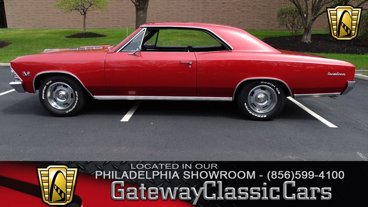 1966 Chevrolet Chevelle Ss 396 Gateway Classic Cars Philadelphia Chevy 068