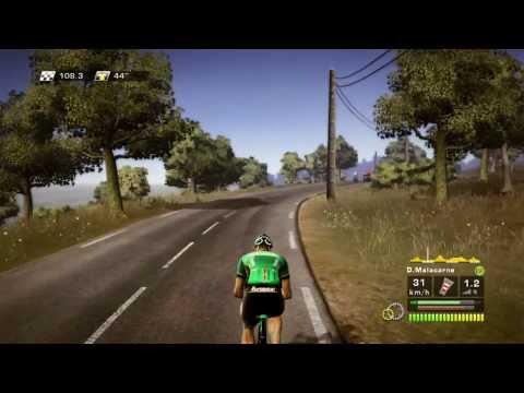 Le Tour De France 100 Game - Знаменитая Велогонка в игре - Let's Play - Gameplay - обзор
