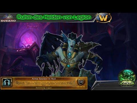 """"""" Arme Seelen In Not """" [Ruhm Des Helden Von Legion] Dungeon Erfolg"""