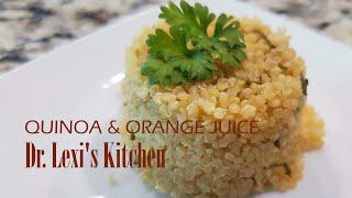 Quinoa and Orange Juice Quick Recipe