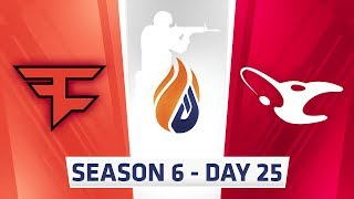 ECS Season 6 Day 25 Faze vs Mousesports - Dust2
