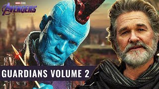 Avengers 4 Endgame Countdown: Guardians of the Galaxy Volume 2