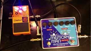 Deluxe Memory Man Tap Tempo Effects Loop JHS Pedals Synth Drive