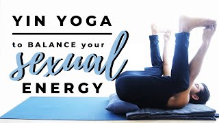 Sexual Energy Balance Yin Yoga Sequence | 45 minutes deep hip stretch | *english*