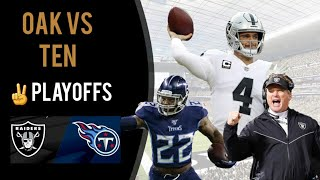 Oakland Raiders LOSE vs Tennessee Titans   Derek Carr or Deshone Kizer?