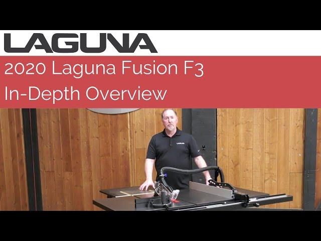 In-Depth Overview: 2020 Laguna Fusion F3 Tablesaw | Laguna Tools