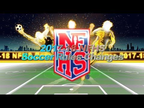 NFHS Soccer Rules Changes 2017-2018
