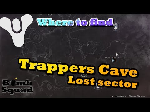 Destiny 2 - Trappers Cave - How to reach this Lost Sector - YouTube