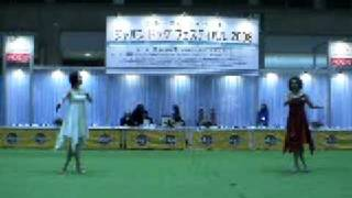 JKCのジャパンドッグフェスティパル2008において、ドッグダンスのデモを...