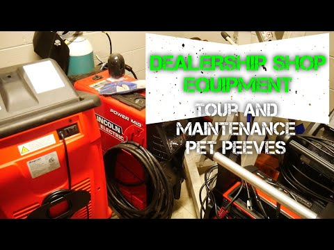 SHOP EQUIPMENT TOUR AND PET PEEVES