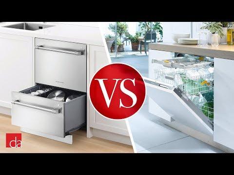 Drawer Dishwasher Vs Standard Dishwasher