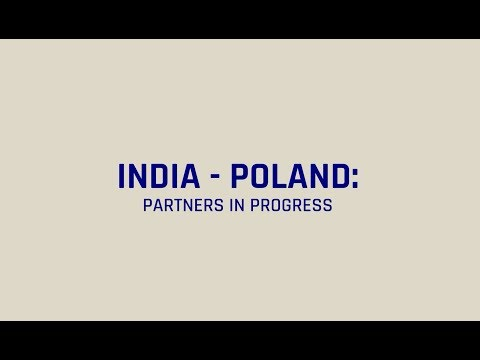 India and Poland Partners in Progress full version 12 minutes in Polish