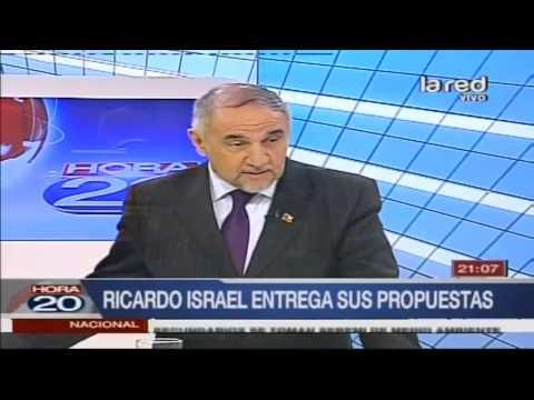 Candidato Presidencial Ricardo Israel Entrega Sus Propuestas