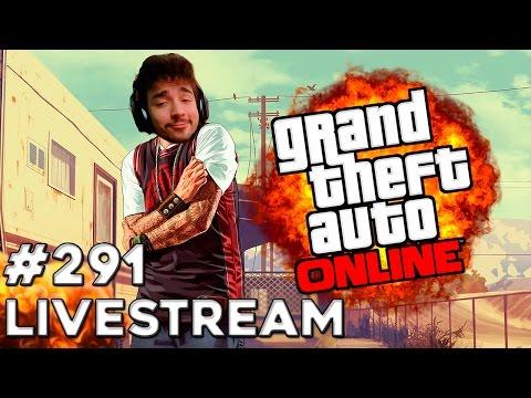LIVESTREAM #291 GTA V ONLINE :D
