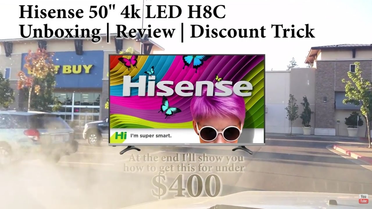 Hisense H8C 4k TV HDR for TV or GAMING MONITOR ` REVIEW & Walk Through +  Coupons!!