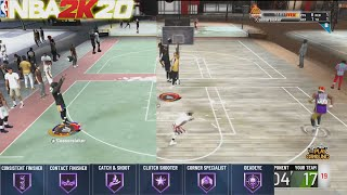 How to MASTER the BP/OFFENSIVE THREAT BUILD - NBA 2K20 Master Class TIPS