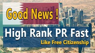 Fast PR and Easy Citizenship Country.| Good News Free PR
