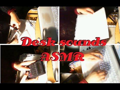 ASMR - Drawing - Calculator (NO Talking) Typing, writting, scissors)