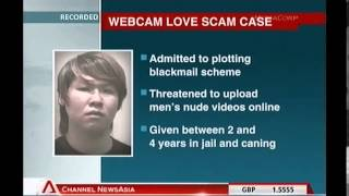 Man sentenced over online nude video extortion scam - vid0966