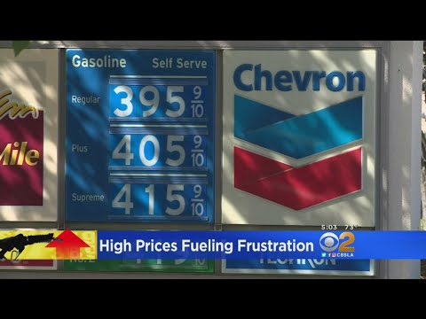 High Gas Prices Fueling Frustration At The Pump