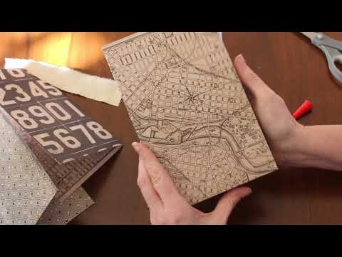 Tutorial Tuesday 2018 - Making Hinged Pages