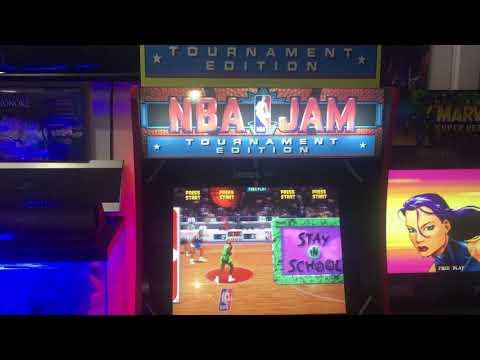 Restoring a Costco's NBA JAM Arcade1up display unit from Colorado's Digital Distraction