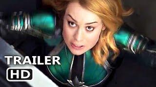 """CAPTAIN MARVEL """"Fight Scene"""" Trailer (2019) Marvel Movie HD"""