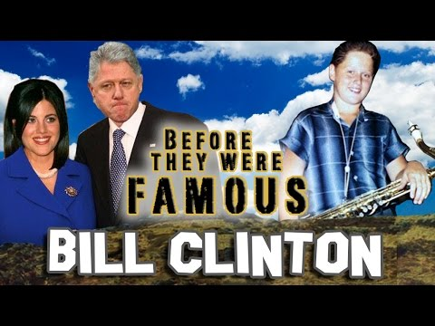 BILL CLINTON - Before They Were Famous