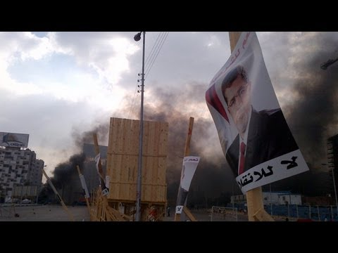 Egypt: clashes in Cairo as pro-Morsi camps are cleared