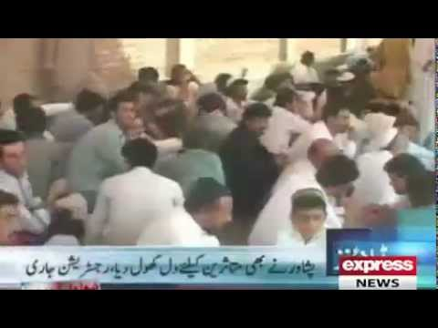 Express headlines - 12pm, July 7: IDPs arrive in Peshawar