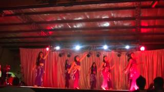 Danzas Arabes Rio Gallegos 2014 Juveniles- Fakerni