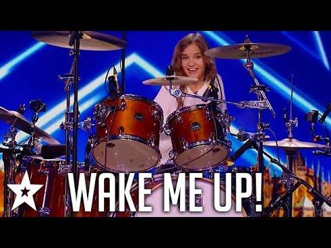 Kid Drummer Plays Avicii - Wake Me Up on ČESKO SLOVENSKO MÁ TALENT | Got Talent Global