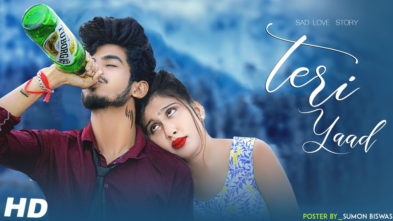 Download Teri Yaad   Romantic Love Story   Hindi Song   Love Story   Ft.Adi & Mithi   Bluestone Presents