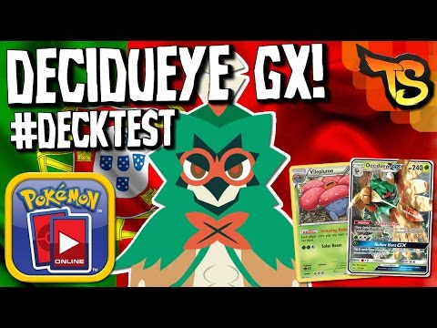 ✪ Pokémon TCG - Decidueye Vileplume! (Campeão Regional Sheffield!) #DECKTEST