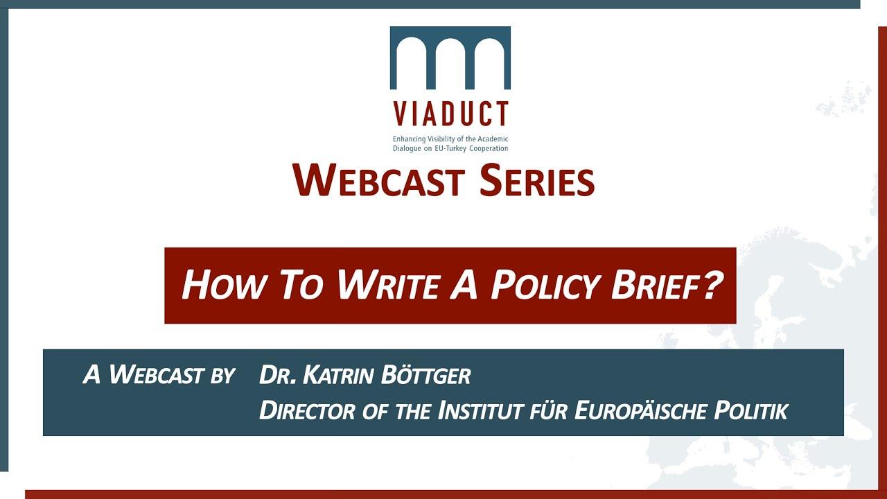 """Webcast """"Policy Brief"""""""