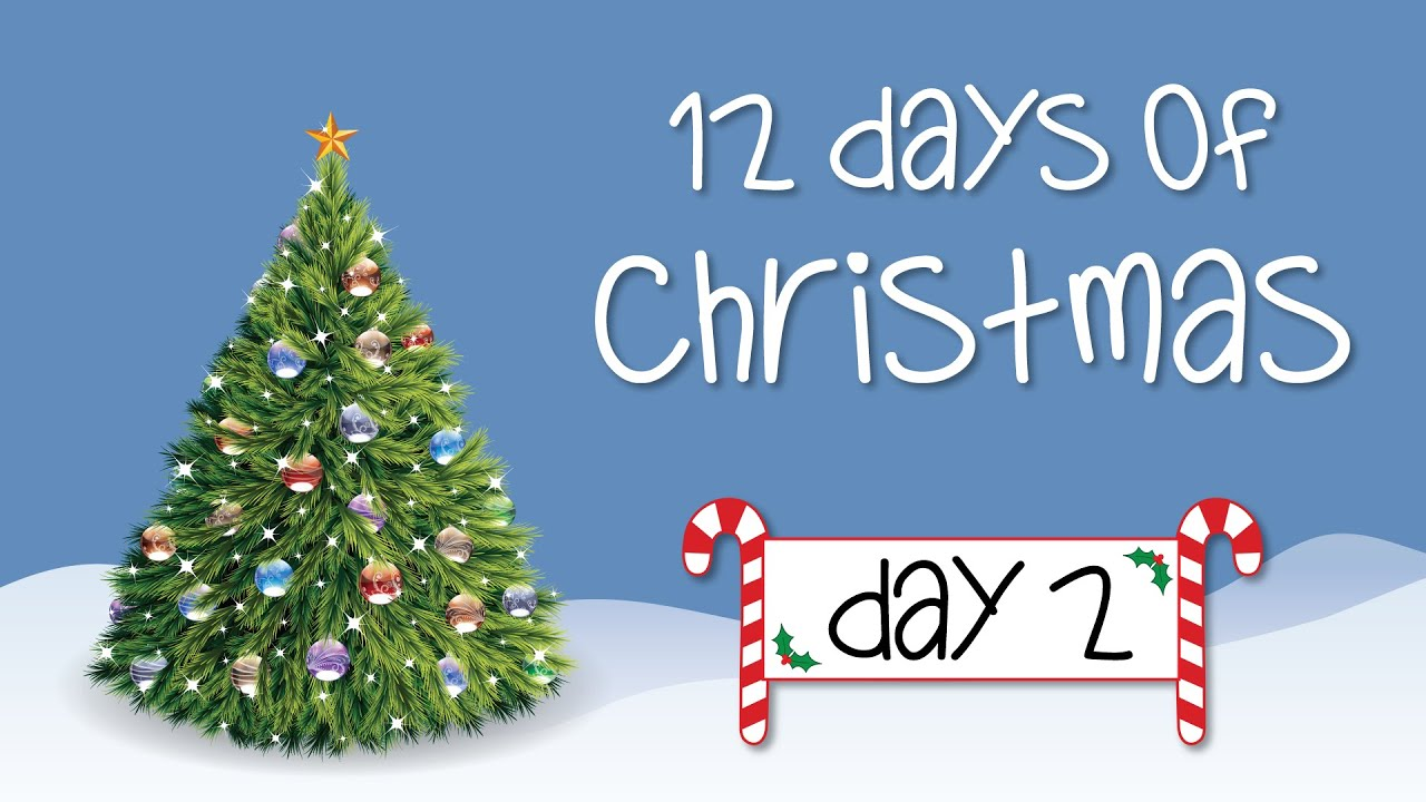 12 Days of Christmas 2015 - DAY 2 GIVEAWAY - YouTube