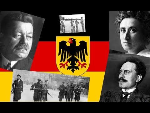 The Weimar Republic: Kiel to Versailles