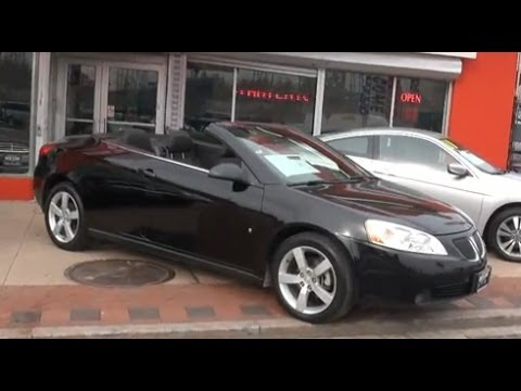 2007 pontiac g6 gt hard top convertible youtube. Black Bedroom Furniture Sets. Home Design Ideas