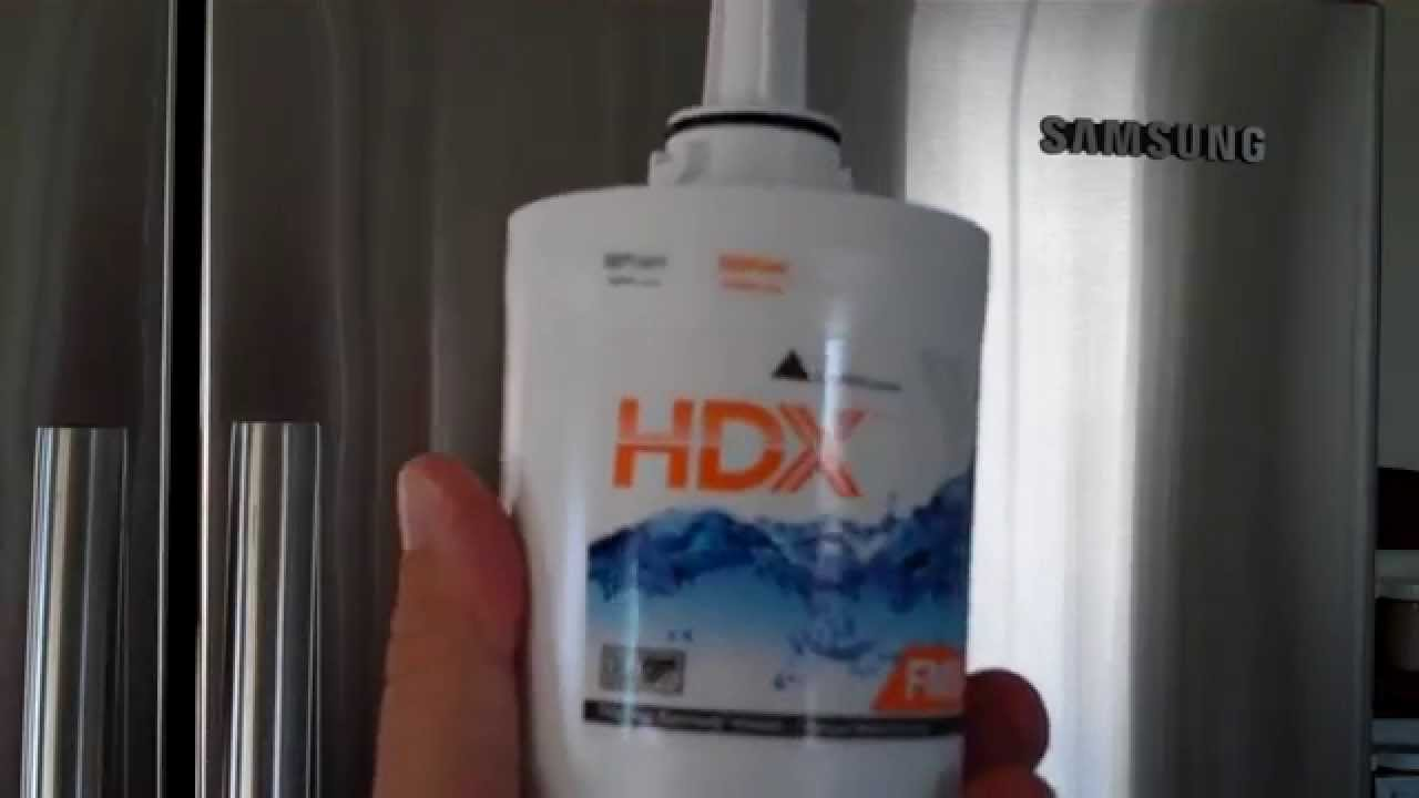 Installing Hdx Water Filter For Samsung Fridge