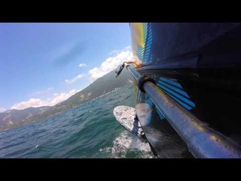 Torbole / Lago di Garda - Windsurf 10/06/2016 Cruising Speed