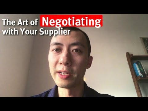 The Art of Negotiating with Your China Supplier - Gary Huang at Global Sources Summit