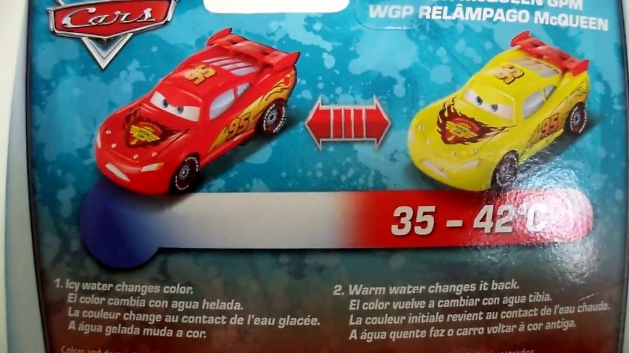 Cars Rayo McQueen Color Changers Ramon - YouTube