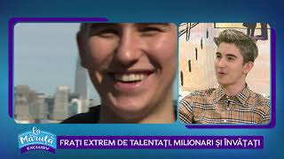 Sebastian Dobrincu, milionar la 21 de ani