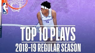 De'Aaron Fox's Top 10 Plays of the 2018-19 Regular Season